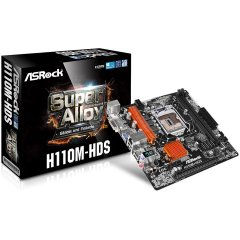 ASROCK Main Board Desktop iH110 (s1151