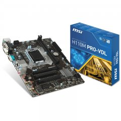 MSI Main Board Desktop H110 (S1151