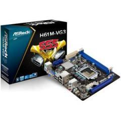 ASROCK Main Board Desktop iH61 (S1155