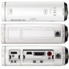 Sony HDR-AS200VR (white) Body + Live-View Remote Kit + Sony CP-V3A Portable power supply 3 000mAh