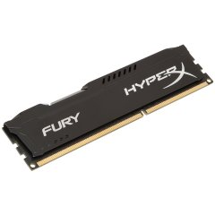 Kingston  8GB 1600MHz DDR3 CL10 DIMM HyperX FURY Black