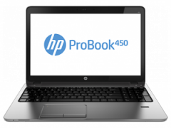 HP ProBook 450 i5-4210U 15.6 HD AG LED SVA 8GB DDR3 RAM 750GB HDD Intel HD Graphics 4600 DVD+/-RW