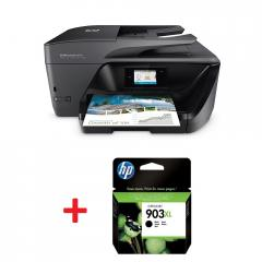HP OfficeJet Pro 6970 All-in-One Printer + HP 903XL High Yield Black Original Ink Cartridge