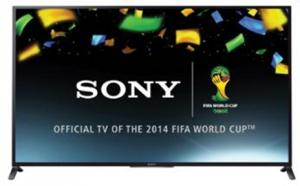 Sony KDL- 60W855BB 60 3D Full HD Edge LED TV BRAVIA