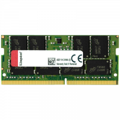 KINGSTON 16GB 2400MHz DDR4 Non-ECC CL17 SODIMM 2Rx8 Lifetime
