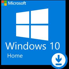 Microsoft Windows Home 10 64Bit Eng Intl 1pk DSP DVD