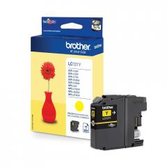 Brother LC-121 Yellow Ink Cartridge for MFC-J470DW/DCP-J552DW