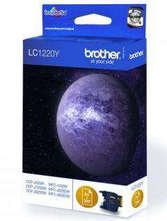 Brother LC-1220Y Ink Cartridge for DCP-J525W/DCP-J725DW/DCP-J925DW/MFC-J430W