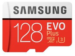 Samsung 128GB micro SD Card EVO+ with Adapter