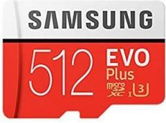 Samsung MicroSD card EVO+ series with Adapter
