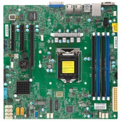 Supermicro Motherboard MBD-X11SCL-F 1xLGA 1151