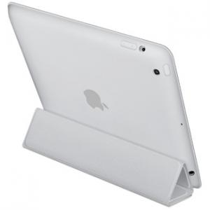Apple iPad Smart Case - Polyurethane - Light Gray