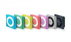 Apple iPod shuffle 2Gb yellow