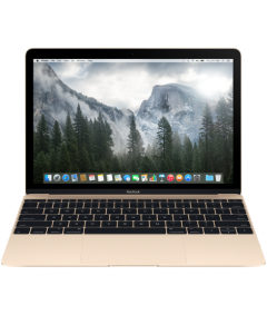 Преносим компютър Apple MacBook 12 Retina/Dual-Core M 1.1GHz / 8GB / 256GB / Intel