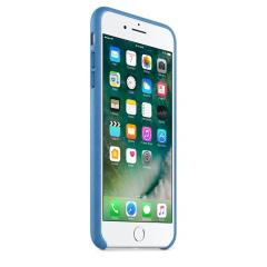 Apple iPhone 7 Plus Leather Case - Sea Blue
