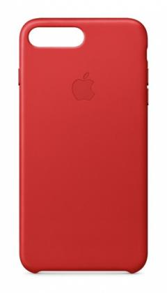 Apple iPhone 7 Plus Leather Case - (PRODUCT) RED