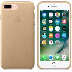 Apple iPhone 7 Plus Leather Case - Tan