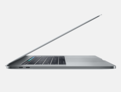 Преносим компютър Apple MacBook Pro 15 Touch Bar/QC i7 2.8GHz/16GB/256GB SSD/Radeon