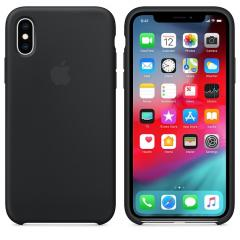 Apple iPhone XS Silicone Case - Black