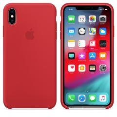 Apple iPhone XS Max Silicone Case - (PRODUCT) RED
