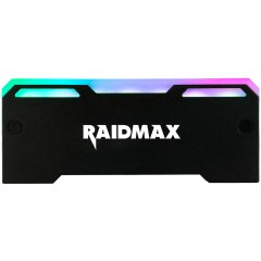 RAIDMAX MX-902F GPU RGB FAN 127x8x51mm 3pin/Voltage 5V Black