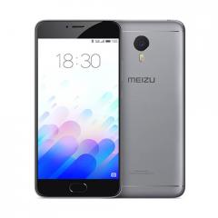 Meizu m3 Note 16Gb  Dual SIM Gray/Black Metallic body 5.5 FHD/Helio P10 Octa-core/2GB/16GB/Finger