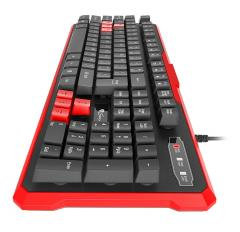 Genesis Gaming Keyboard Rhod 110 Red Us Layout