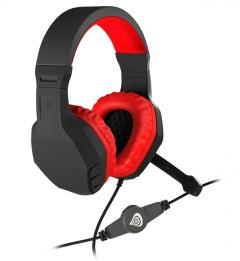 Genesis Gaming Headset Argon 200 Red Stereo