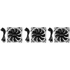 Raidmax NV-R120FBR3 Addressable RGB 12CM Case Fan With Controller
