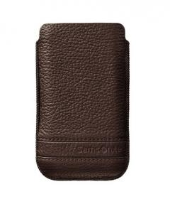 Samsonite SLIM CLASSIC LEATHER-CLASSIC SLEEVE L brown