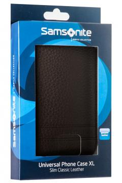 Samsonite SLIM CLASSIC LEATHER-CLASSIC SLEEVE XL brown
