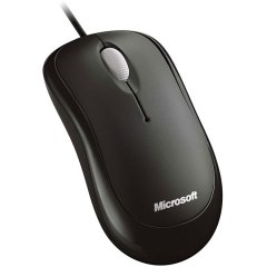 BASIC OPTICAL MOUSE MAC/WIN USB - Black