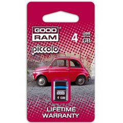 4GB GOODRAM PICCOLO BLACK Retail 10
