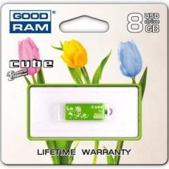 GOODRAM USB Cube 8 GB green