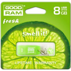 GOODRAM 8GB USB 2.0 GOODDRIVE Fresh - Lime-N Retail