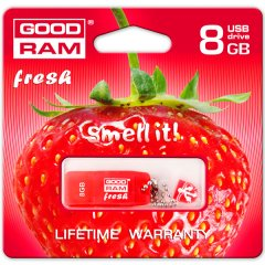GOODRAM 8GB USB 2.0 GOODDRIVE Fresh - STRAWBERRY Retail