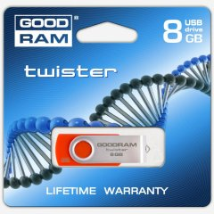 8GB GOODDRAM Twister Red Retail
