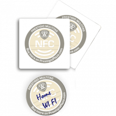 NFC MultiTags Paper Stickers
