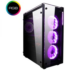 Chassis PROSPER RGB EN9726 TEMPERED DESIGN