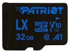 Patriot LX Series 32GB Micro SDHC V10