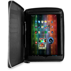 Prestigio Universal Pu leather black case with zip closure and stand suitable for most 9.7-10.1