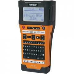 Brother PT-E550WVP Handheld Industrial Labelling system + 4x Brother STE-141 Black Stamp Stencil