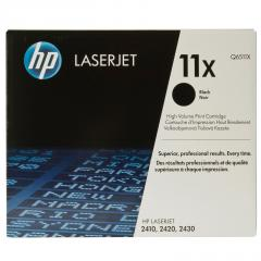 HP 11X Black LaserJet Toner Cartridge