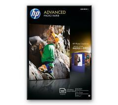 HP Advanced Glossy Photo Paper-100 sht/10 x 15 cm borderless