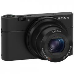 Sony Cyber Shot DSC-RX100 black + Leather case
