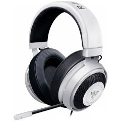 Razer Kraken Pro V2 – Analog Gaming Headset – White–OVAL Ear Cushions. 50 mm audio drivers