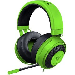 Razer Kraken Pro V2 – Analog Gaming Headset – Green –OVAL Ear Cushions. 50 mm audio drivers