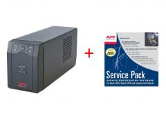 APC Smart-UPS SC 420VA 230V + APC Service Pack 3 Year Warranty Extension (for new product purchases)
