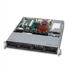 Шаси SUPERMICRO SC813MTQ-600CB Rack-Mountable ATX