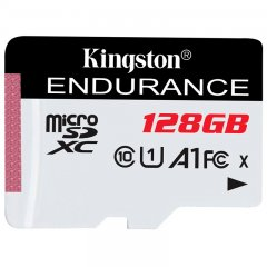 Kingston 128GB microSDHC Endurance Flash Memory Card